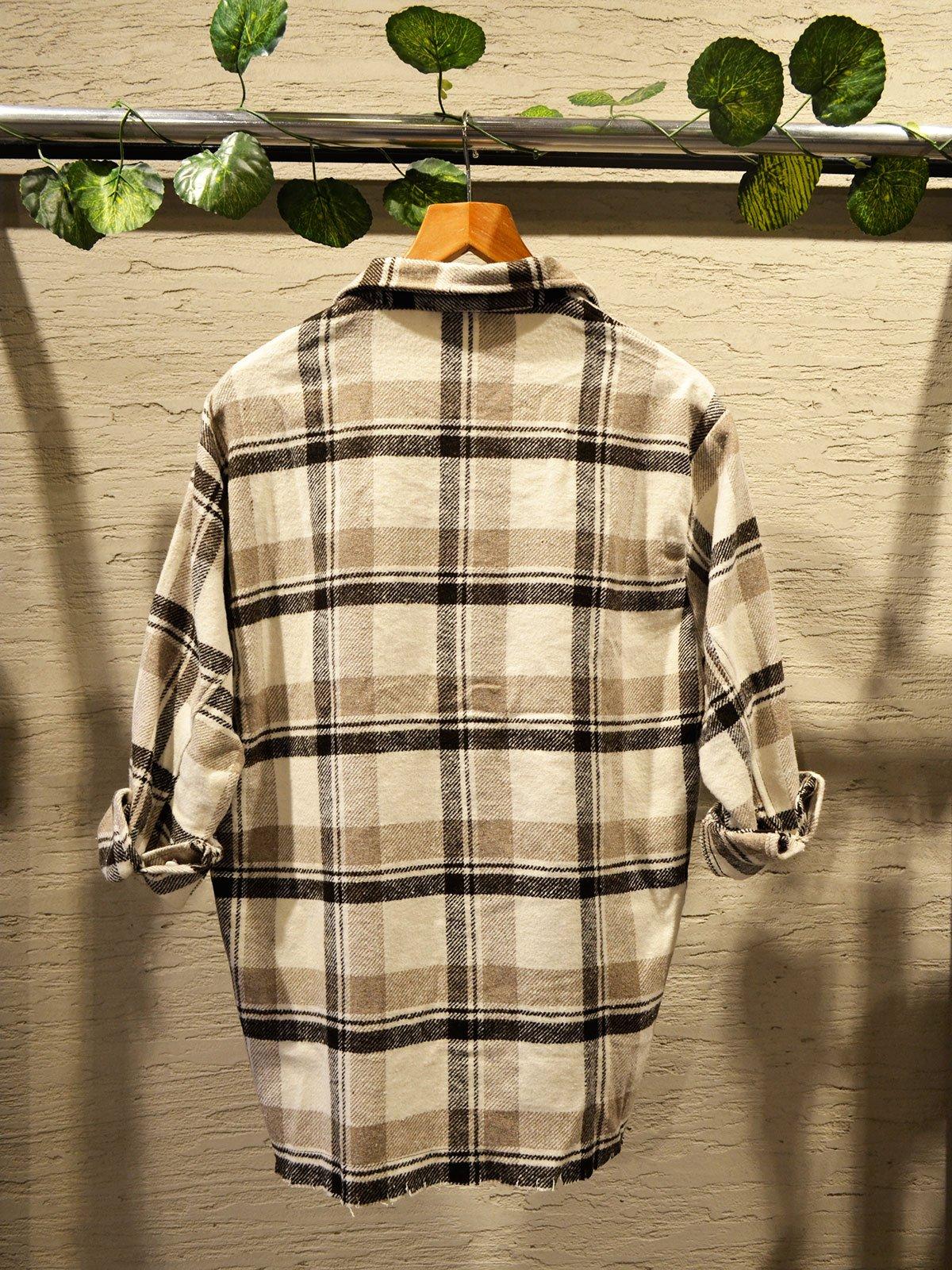 Ekoseli Oduncu Gömlek