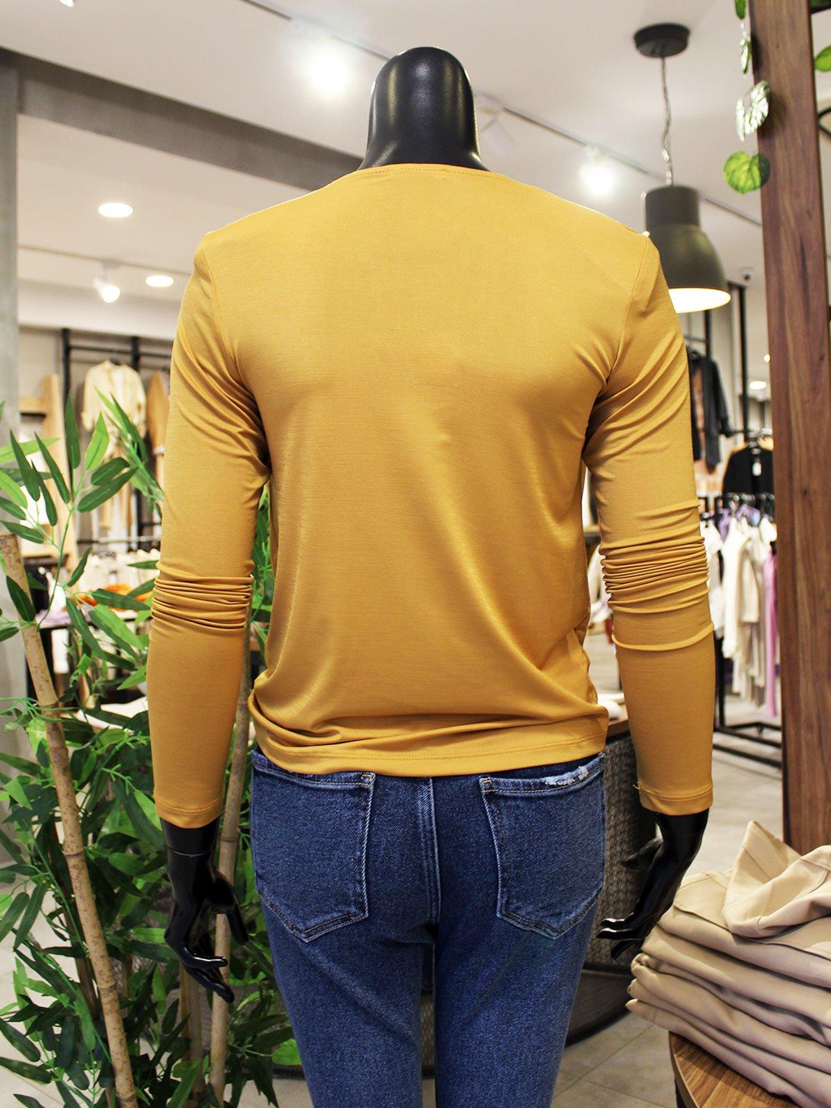 Degaje Yaka Vatkalı Bluz