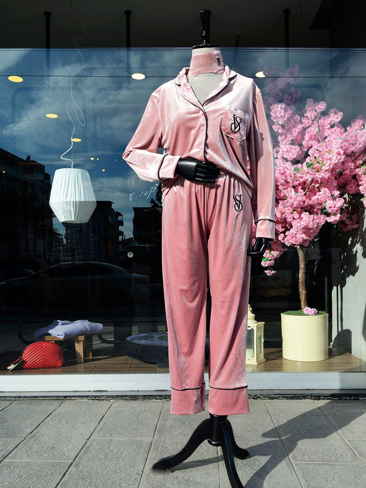 Kadife Pijama Takım