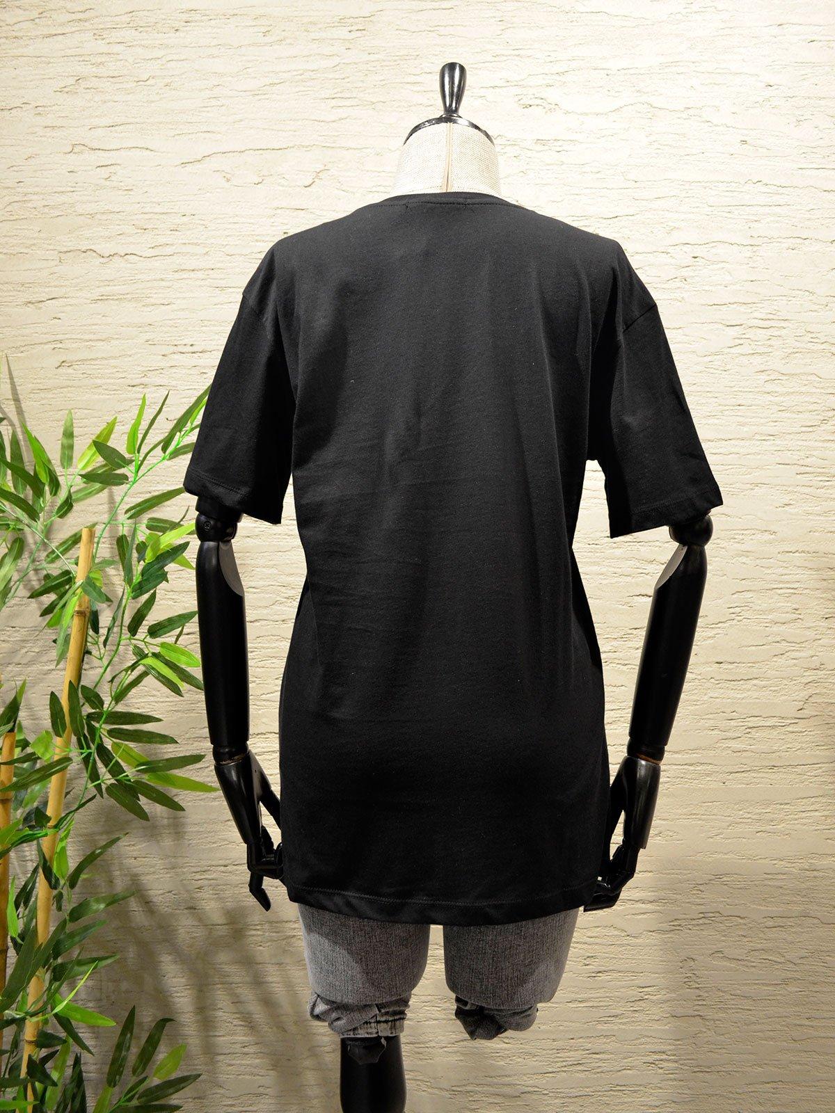 Bisiklet Yaka Baskılı Tshirt