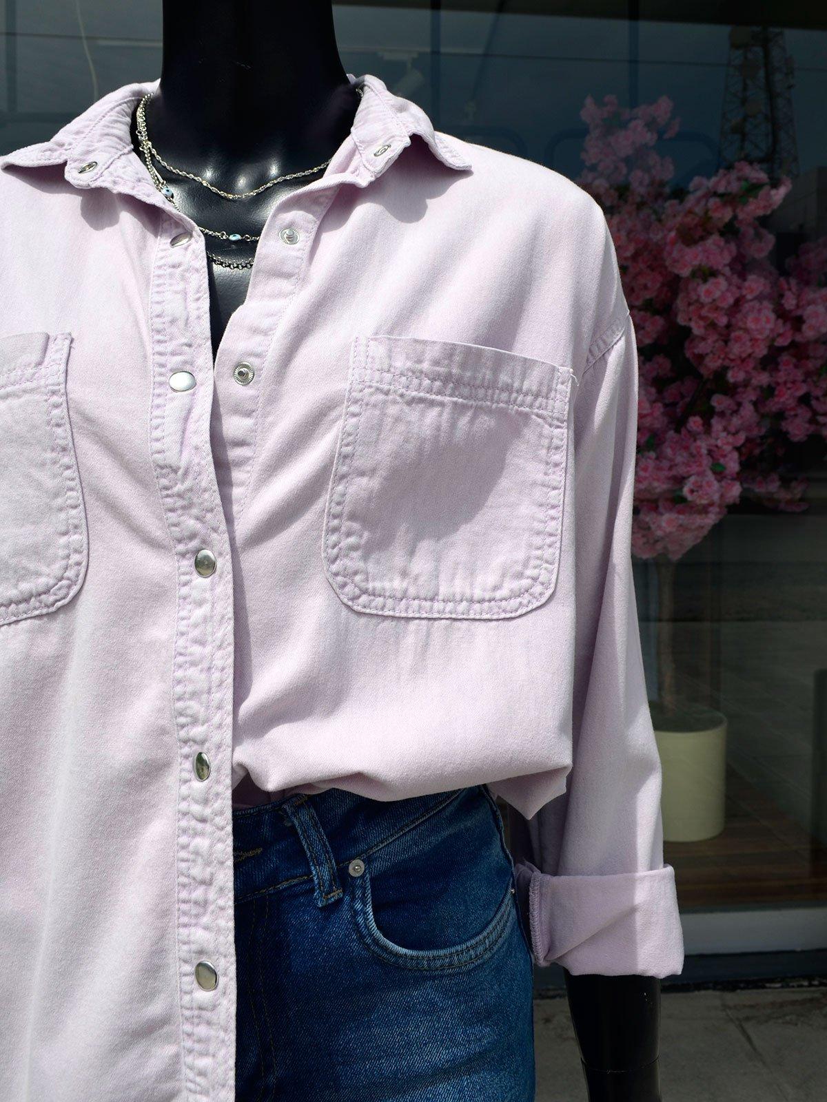 Çıtçıtlı Gömlek