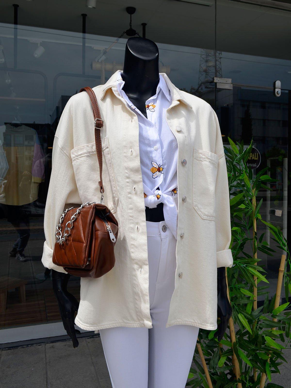 Önü Cepli Ceket