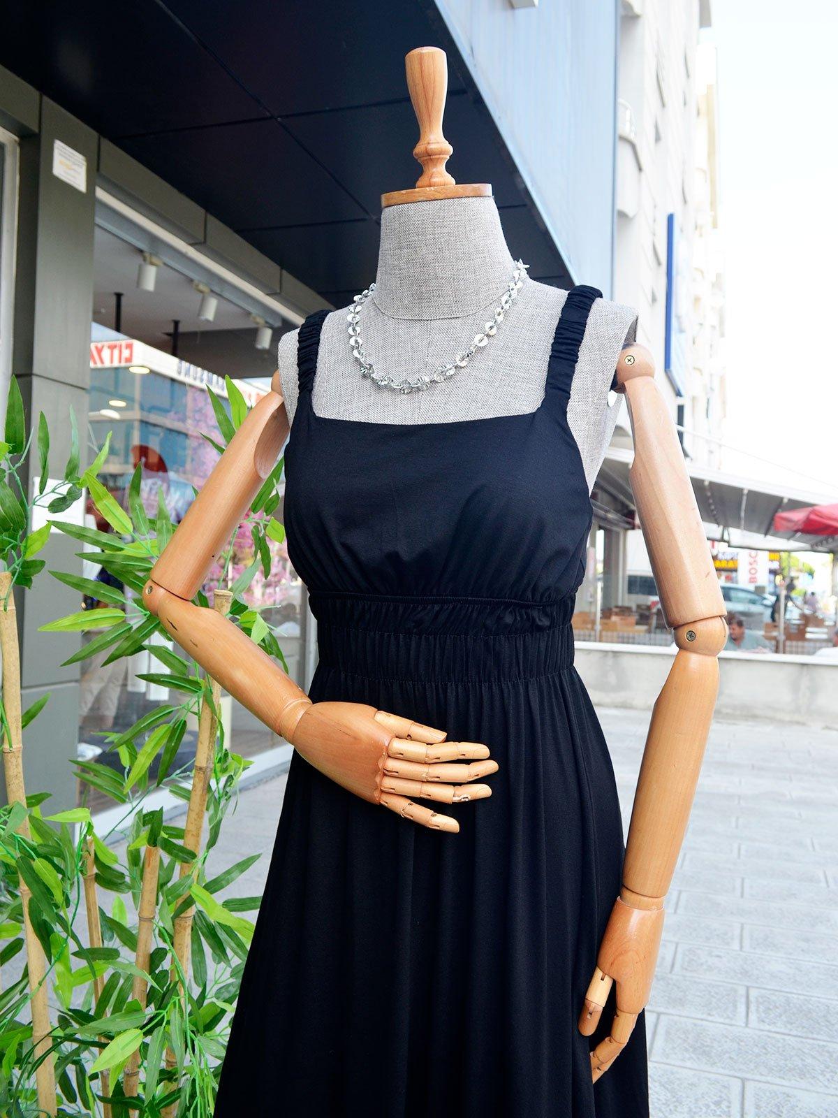 Midi Boy Elbise