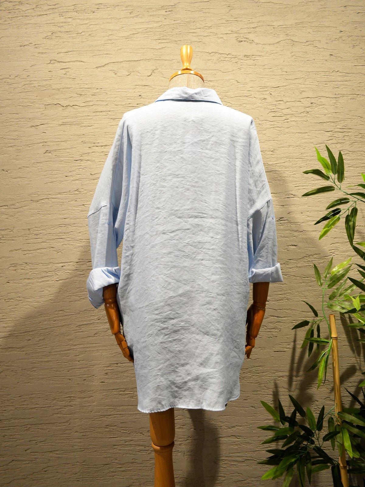 Taşlı Oversize Gömlek