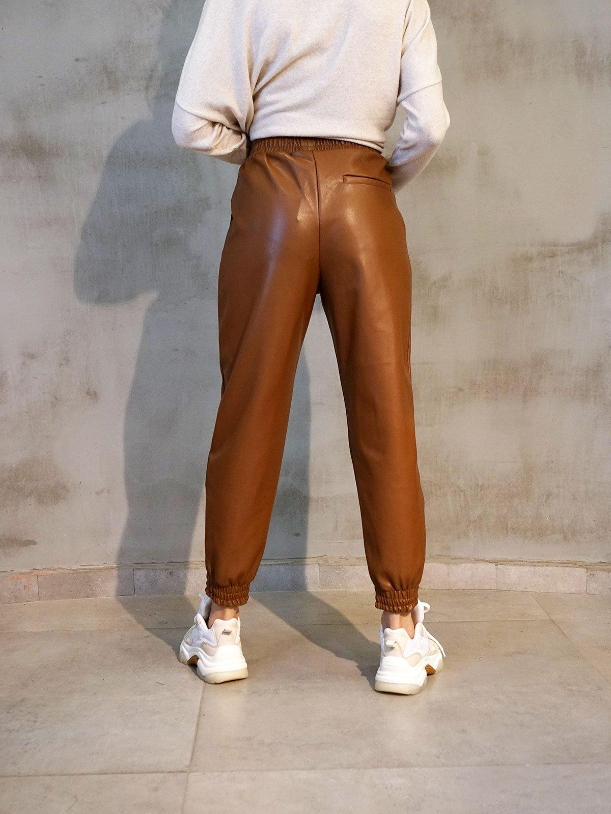 Deri Joger Pantolon