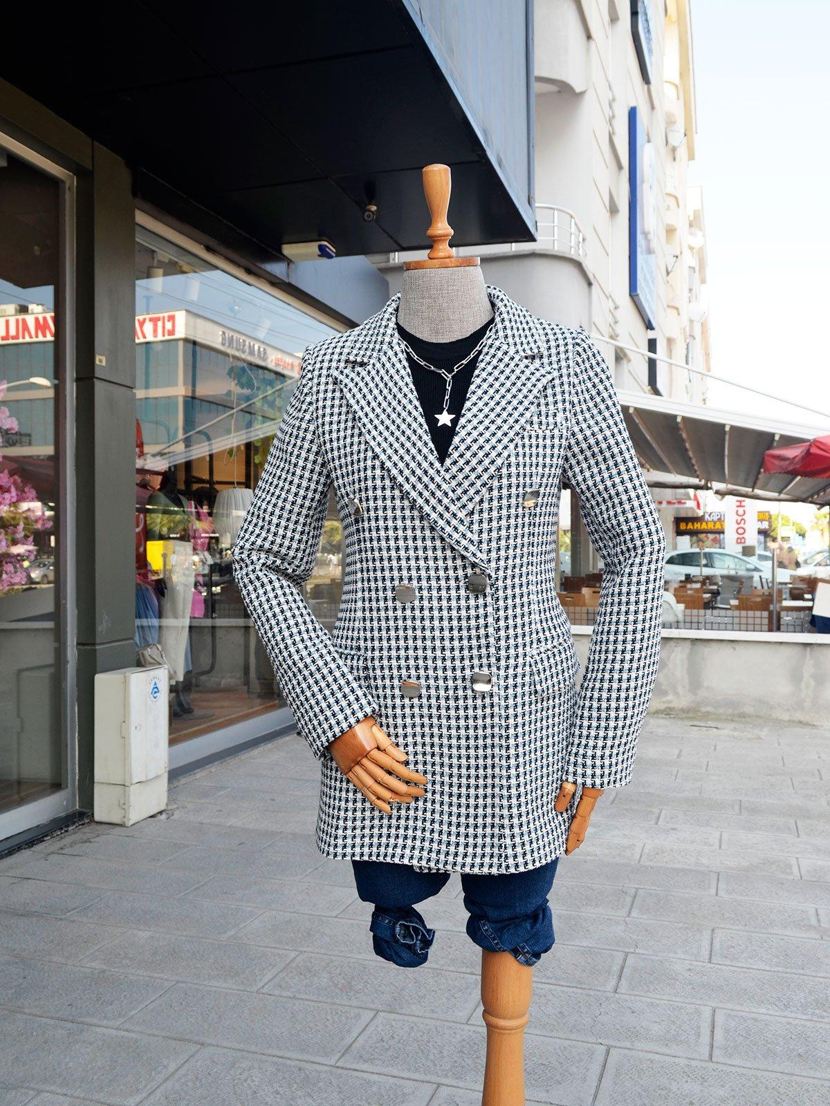 Kruvaze Ceket